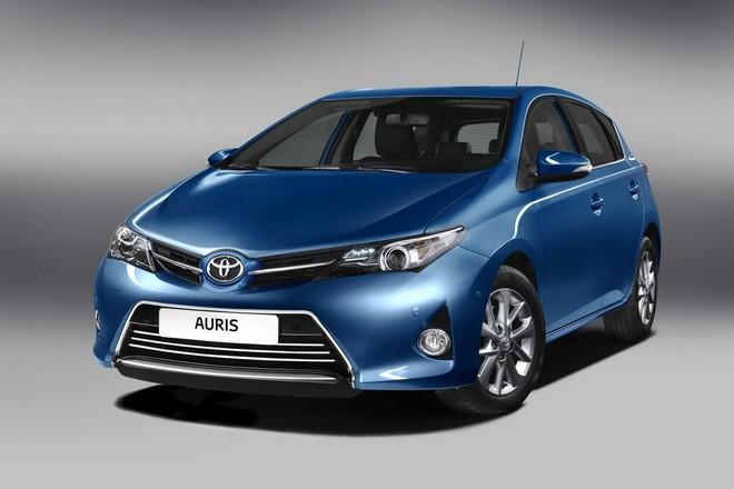 Новая Toyota Auris 2013 — экстерьер, фото 2